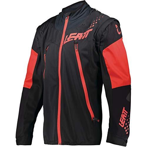 Leatt 2021 Moto 4.5 Lite Chaqueta (XL) (Negro/Rojo)