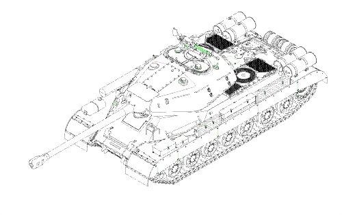 Trumpeter 005573 - 1/35 JS4 Schwerer Panzer