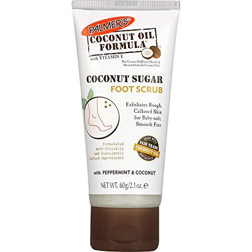 Palmers coconut oil sugar foot scrub 60g (3571-6)