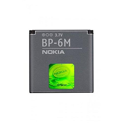 BATTERIA ORIGINALE NOKIA BP-6M per 6288, N73, N77, N93 1100mAh LI-ION BULK SEGUE COMPATIBILITA'..
