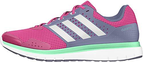 adidas Damen Duramo 7 W Laufschuhe, Rosa/Blanco/Morado (Eqtros/Ftwbla/Morsup), 36 EU