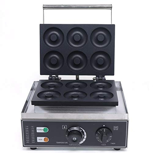 Máquina eléctrica para hacer donuts de 1550 W