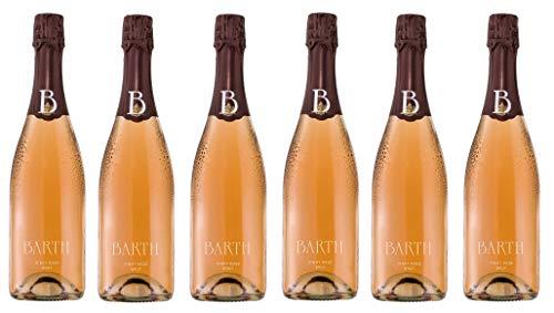 6x 0,75l - Wein- und Sektgut Barth - Pinot Rosé-Sekt - brut - Rheingau - Deutschland