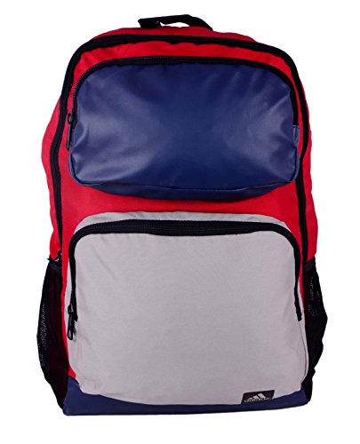 adidas AY5118 ST BP-2 Polyester Backpack, Men's (Red)