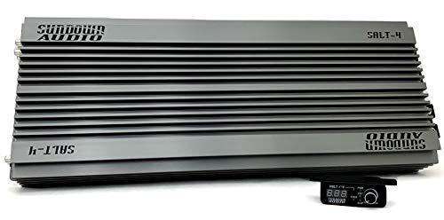 Sundown Audio Salt-4 Series Monoblock 4000W RMS Car Amplifier