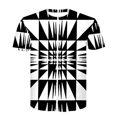 Kurzarm Shirt Freizeithemden draussen...
