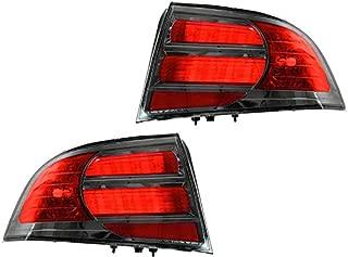 Acura Tl 04 05 06 07 08 Type S Tail Light Lamp Unit Pair 33551Sepa21 33501Sepa21