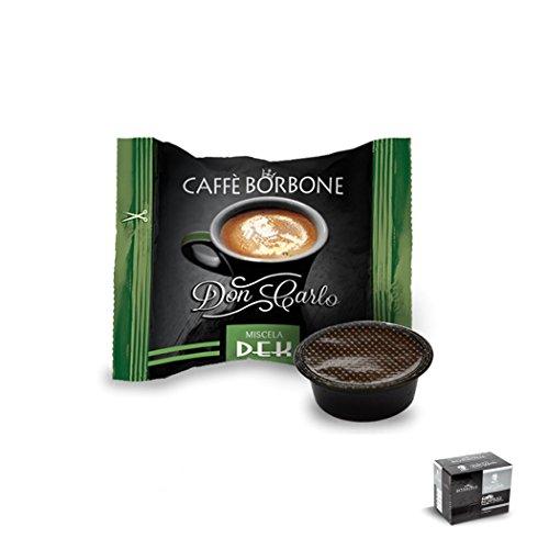 Caffè Borbone - 50 Capsule Don Carlo Compatibili Lavazza A Modo Mio Espresso - Miscela DEK