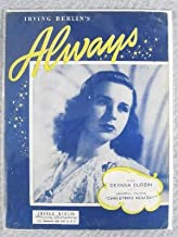 Irving Berlin's Always (Sung by Deanna Durbin in the Universal Picture