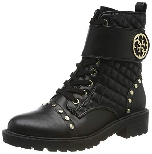 Guess Damen Heathir/stivaletto (bootie)/le Biker Boots, Schwarz (Black Blk Bl), 38 EU