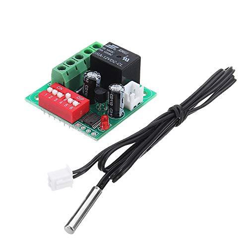 Interruptor de Control de Temperatura Ajustable de Temperatura de Alta precisión de Control del Controlador del termostato XH-W1701 Gaodpz