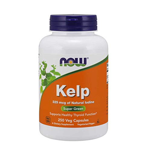 Kelp Caps 325 mcg 250 Vegetarian Capsules by NOW