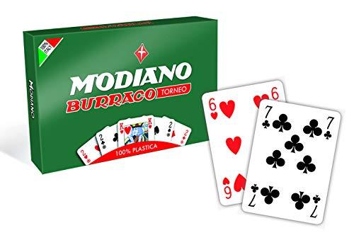 Modiano Buraco Plastik-Spielkarten