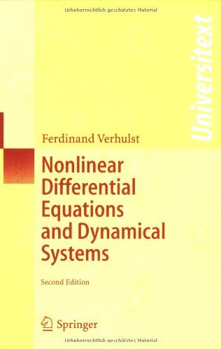 Nonlinear Differential Equations and Dynamical Systems (Universitext) (English Edition)