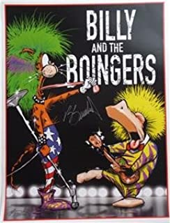 SDCC 2016 SIGNED Berkeley Breathed BILLY AND THE BOINGERS Lithograph