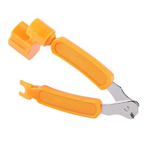 Gitarren-Multitool für alle Gitarren leicht zu tragen(Orange)