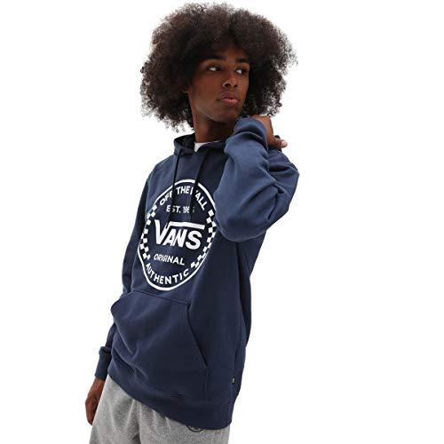 Vans Authentic Checker PO Felpa, Vestito Blues, XXL Uomo