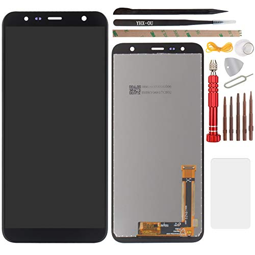 """YHX-OU per 6.0"""" Samsung Galaxy J6 Plus J6+ J610 Galaxy J4 Plus J4+ 2018 di Riparazione e Sostituzione LCD Display + Touch Screen Digitizer con Utensili Inclusi (Nero)"""