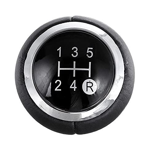 5 6 pomo de cambio de velocidad palanca de cambios palanca de cambios cabeza de pomo apto para Toyota apto para Corolla apto para Verso apto para Auris apto para Yaris RAV4 2007-2013-5_Speed