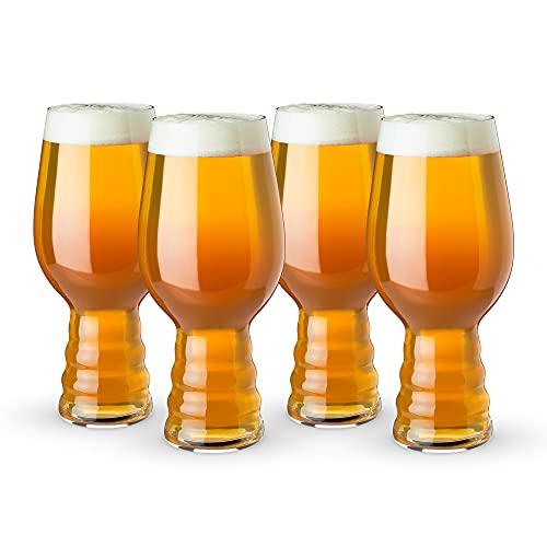 Spiegelau 4991382 Vaso de Cerveza, 4 Gläser