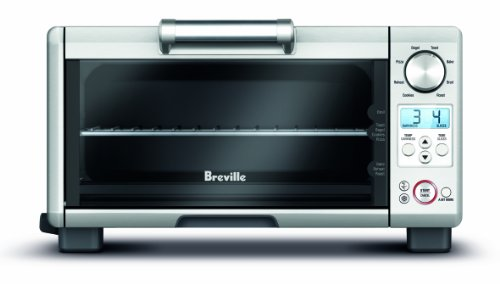 Breville BOV450XL Mini Smart Oven Countertop Oven, Brushed Stainless...