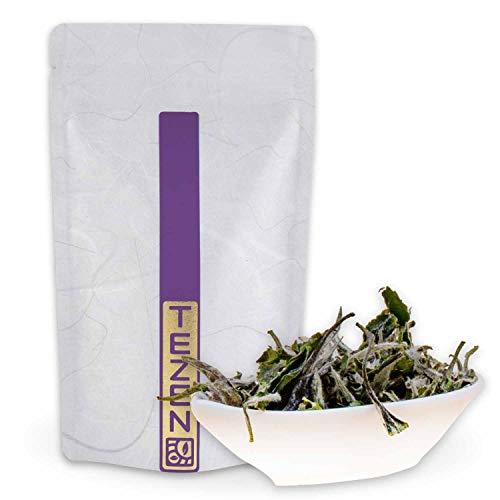 Bai Mu Dan: Weißer Bio Tee aus China | Hochwertiger chinesischer Weißer Bio Tee | Premium China Tee (Bio) aus Fuding, Fujian (50g)