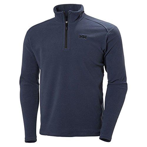 Helly Hansen Daybreaker 1/2 Zip Fleece Jacket Chaqueta con forro polar para hombres, con tecnología Polartec y diseñada para cualquier actividad casual o deportiva