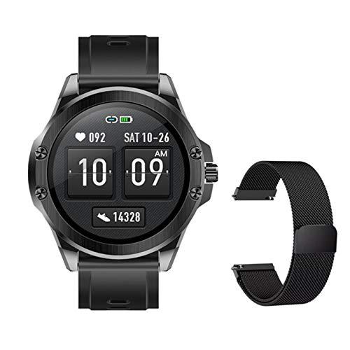 S11 Bluetooth Smart Watch Sports Heart Rate Monitoreo De Presión Arterial Pantalla Completa Pantalla De Color IP68 Pulsera Inteligente Impermeable para Android iOS,d