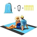 Gonex Alfombras Playa Manta Picnic Suelo Camping Esterilla Anti Arena Lona...