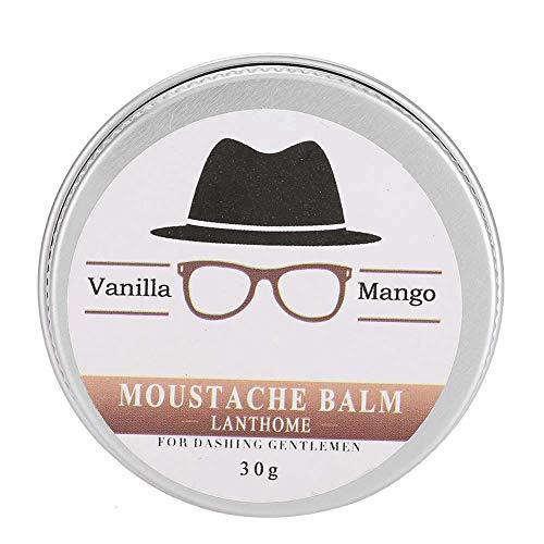 Bartwachs, einfaches Styling, tief nährend und geschmeidig, Slizz-Frizz, Splitten, Bartprobleme, gute Bartpflegelösung für Männer