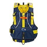 MTI Bob Life Jacket - Blue/Yellow - Youth (50-90 lb)
