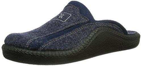 Romika Mokasso 246, Herren Pantoffeln, Blau (Marine 503), 45 EU