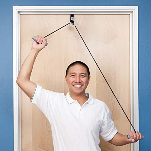 Norco Over The Door Economy Shoulder Pulley for Physical Therapy. Rehab Indications - Frozen Shoulder, Rotator Cuff, Arthritis, Tendonitis, Bursitis, Surgery, Stroke, Range of Motion, Flexibility.