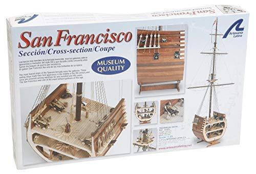 Artesanía Latina 20403. Maqueta de Barco en Madera Sección Galeón San Francisco 1/50