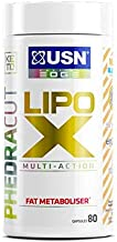 USN PhedraCut Lipo X Fat Metaboliser Capsules Thermogenic High Energy Weight Management Tablets