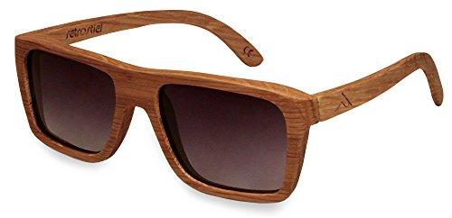 retrostiel Holz Sonnenbrille Driver Oak