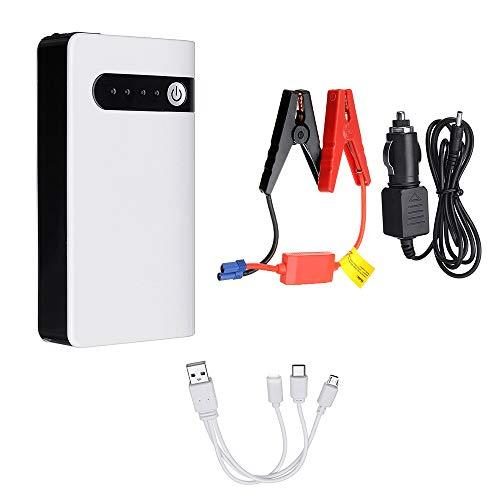 Cuasting USB Auto Starthilfe Auto Batterie Jumper Box Power Bank Batterie LadegerrT 12V 8000MAh Not Start GerrT EU STECKER