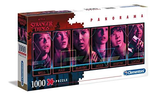 Puzzle 1000 Piezas Panorama Strange Things (39548.4)