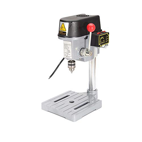 Find Discount LKSDD Drill Presses,Micro-Drilling Machine 240W, Bench-Type Variable-Speed Drilling Ma...
