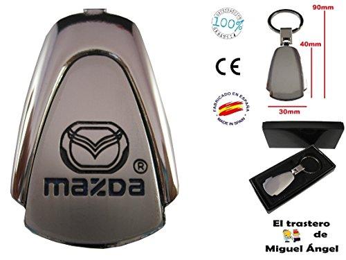ETMA Llavero de Coche Compatible con Mazda lla013-26