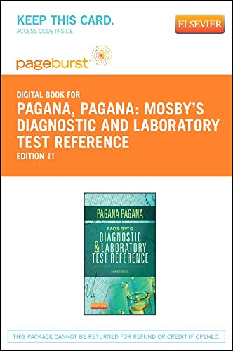 Price comparison product image Mosby's Diagnostic and Laboratory Test Reference - Elsevier eBook on VitalSource (Retail Access Card)