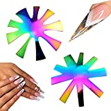 Oval French Tip Cutter 2 Pcs,9 Sizes French Smile Line...