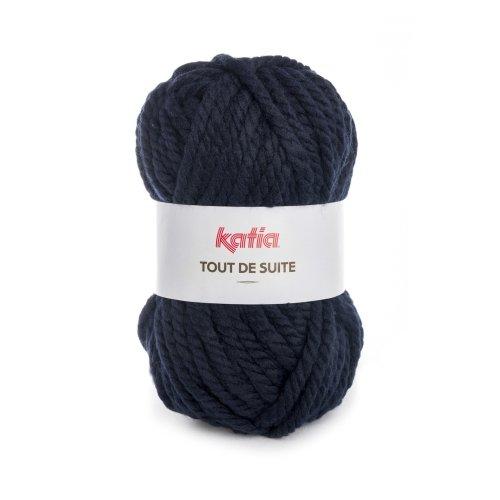 Lana TOUT DE SUITE – Katia 107 azul marino
