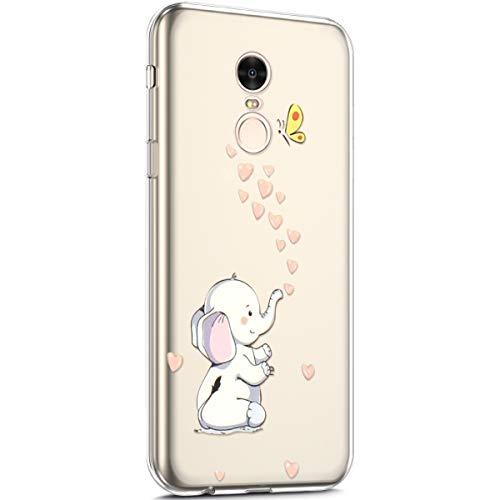 Huphant Kompatibel Mit Xiaomi Redmi Note 4 H/ülle Silikon Xiaomi Redmi Note 4 Case Silikon Gemalt Doll Ultrad/ünn Weiche TPU Bumper Protective Schutzh/ülle f/ür Xiaomi Redmi Note 4 Schwarzer Panda