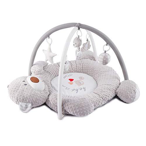 Super Soft Fabric Baby Activity Gym Spielmatte Spielzeug, musikalische Baby Spielmatte Geeignet von Geburt an für Neugeborene Early Education Toy