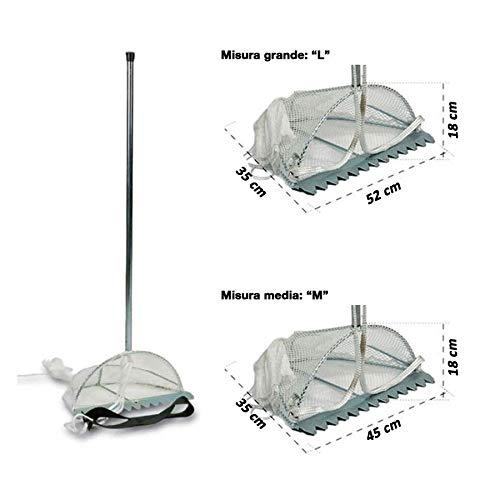 Sele Tellinaro Rastrello Per Telline Misura Media 45Cm O Grande 52Cm (Medio 45X18X35)