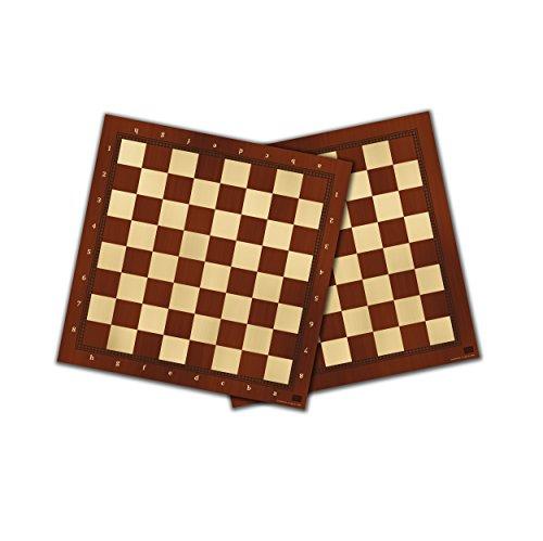 Falomir Tablero de ajedrez y Damas 40cm, Juego de Mesa, Clásicos, Color no Aplica (27909)