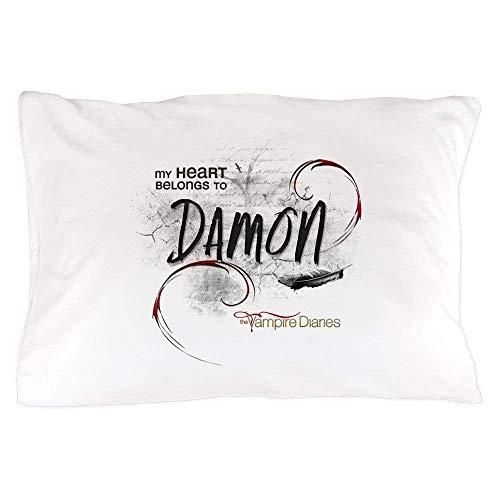 Nifdhkw The Vampire Diaries Damon - Standard Size Kissen Case, 20
