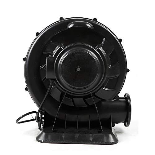 Berkalash Elektrisches Gebläse, Industrie-Pumpenlüfter, Radialventilator perfekt für aufblasbare Hüpfburgen, Hüpfburgen (370W)