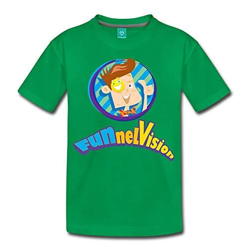 FGTeeV - Funnel Vision Premium T-Shirt (Youth) Kelly Green Youth M